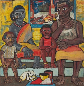 Francis Newton Souza's, Untitled (Indian Family)
