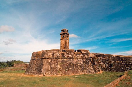 The historic Galle Fort