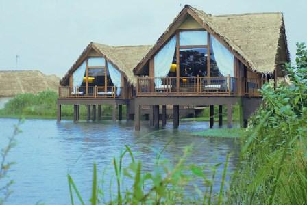 Jetwing Vil Uyana:Water Dwellings At Dawn