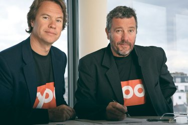 John Hitchcox and Philippe Starck