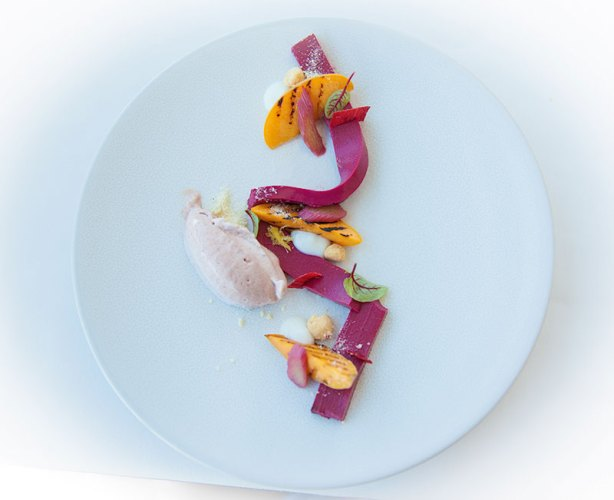Classical cuisine at the Waterkloof Wine Estate restaurant