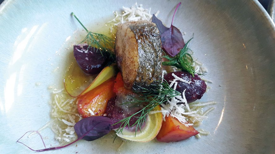 Hake fish at Langbro Vardshus