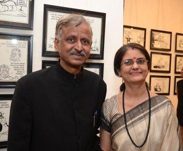 Sudhir and Vibha Tailang