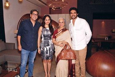 Sunhil Sippy, Karishma Bajaj, Waheeda Rehman, Asim Merchant