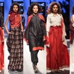 Bagh, Bandhni, Craft, Fashion, Featured, Kantha, Lakme Fashion Week 2017, Lakme Fashion Week Winter Festive 2017, Melange, Online Exclusive, Sangita Kathiwada, Style, Sunita Shanker