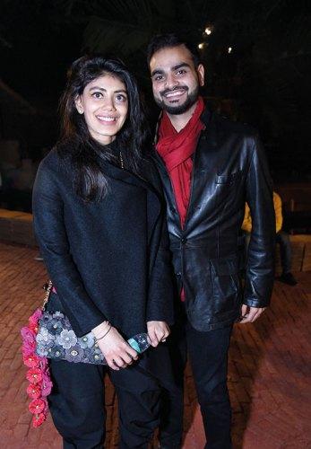 Tanira Sethi and Arjun Dang