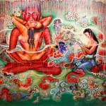 Artwork from Satin at Egg Art Studio, New Delhi