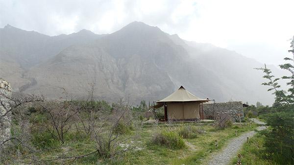 Tent at Chamba Camp, Diskit