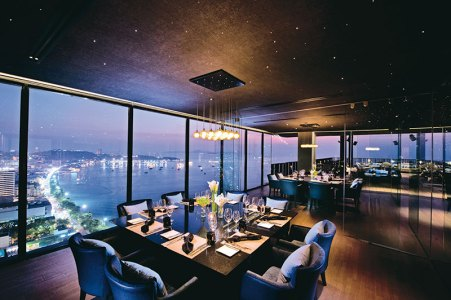 Fine-dining at Hilton Pattaya