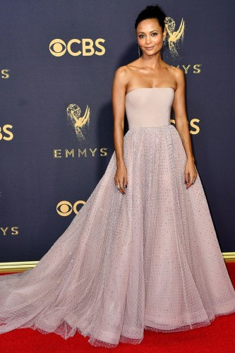 Thandie Newton in custom Jason Wu