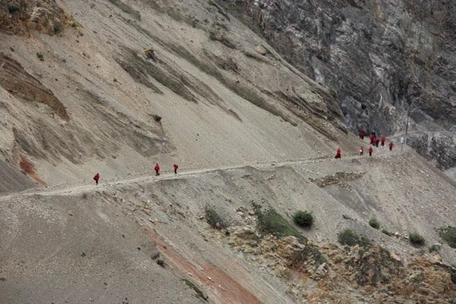 The Salt-Silk Route