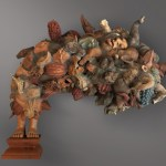 Thousand of 'Me's by Manjunath Kamath for Gallery Espace