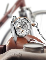 Tissot: Bridgeport Mechanical Skeleton Pocket Watch
