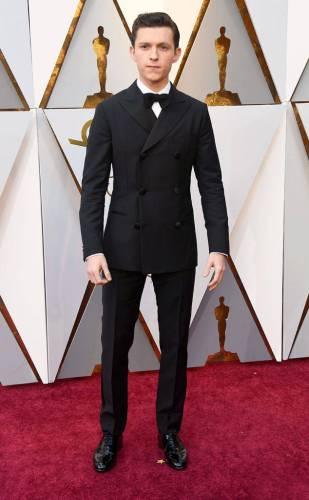 Tom Holland in custom Hermès