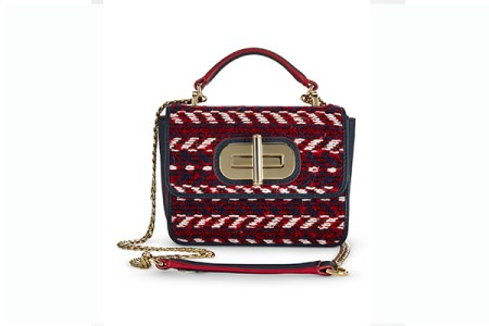 Tommy Hilfiger Mini Crossover Tweed bag