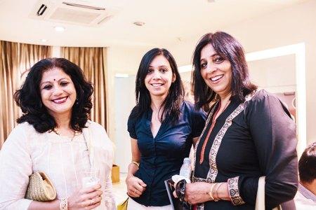 Viveka Chattopadhyay, Ayesha Malhotra, Bina Malhotra