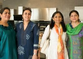 Verve's Arti Sarin, Amrita Seth, Naina Sachdeva, Shabnam Narula
