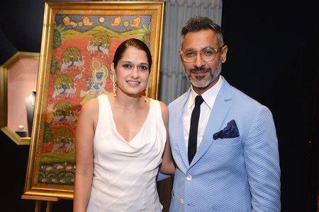 Vidushi and Nikhil Mehra