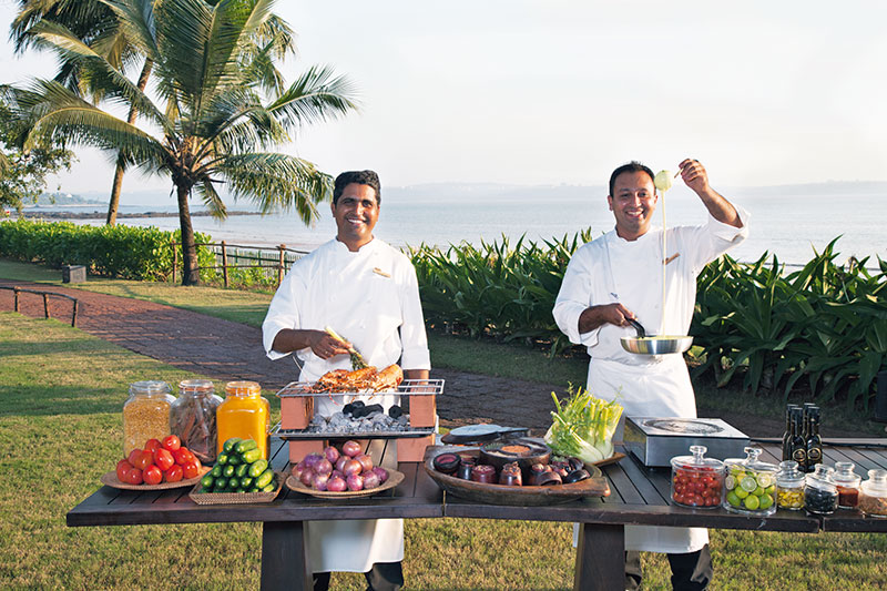 Chef de Cuisine Vijendra Singh Mertia and Chef Sohil Panchal: an inventive take on simple ingredients
