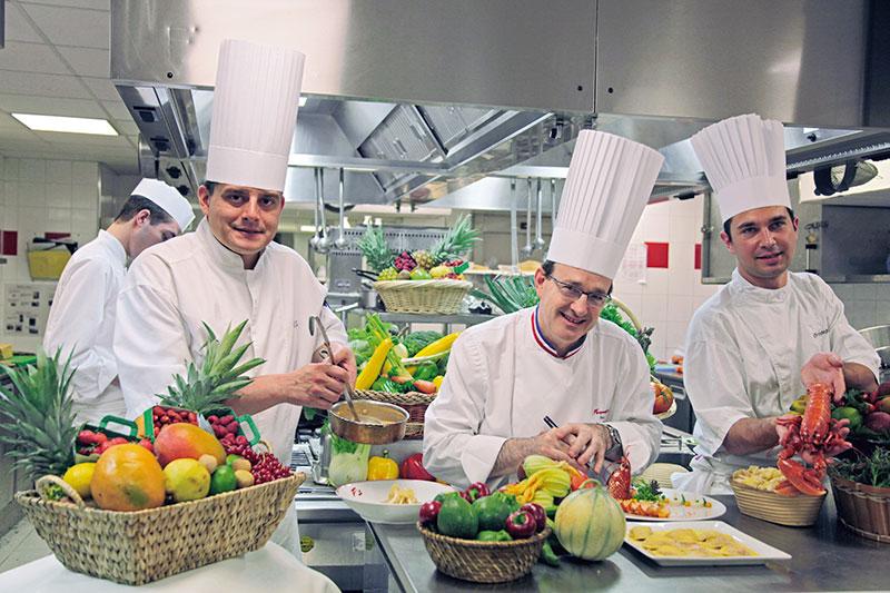 Parisian chef Jean-Yves Leurangeur, Le Fouquet's restaurant in Paris