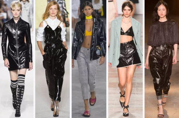 (L-R): Christian Dior, Balmain, Aalto, Sonia Rykiel and Isabel Marant