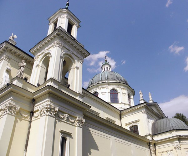 A church in Wilanow