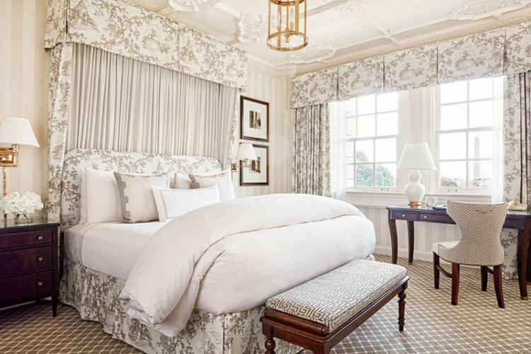 Suite with a view at the Hay-Adams hotel
