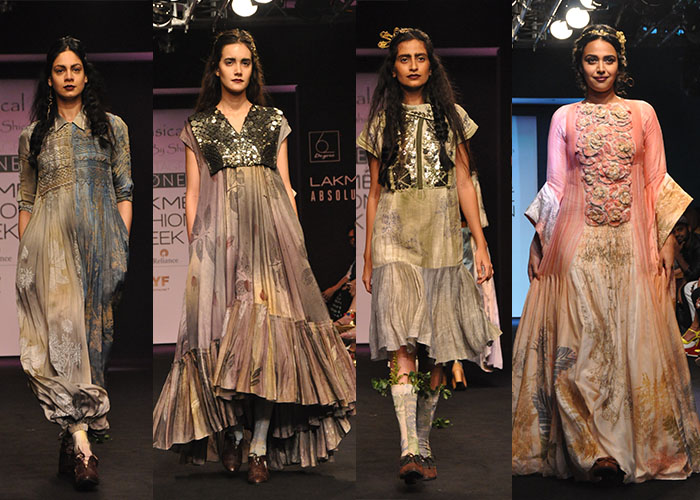 Whimsical, Lakme Fashion Week Winter Festive 2016, Fashion, Runway