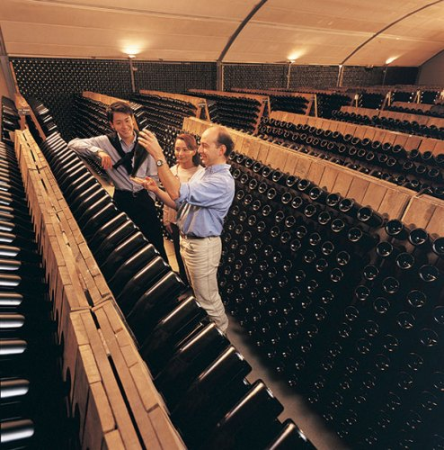 The Domaine Chandon cellar