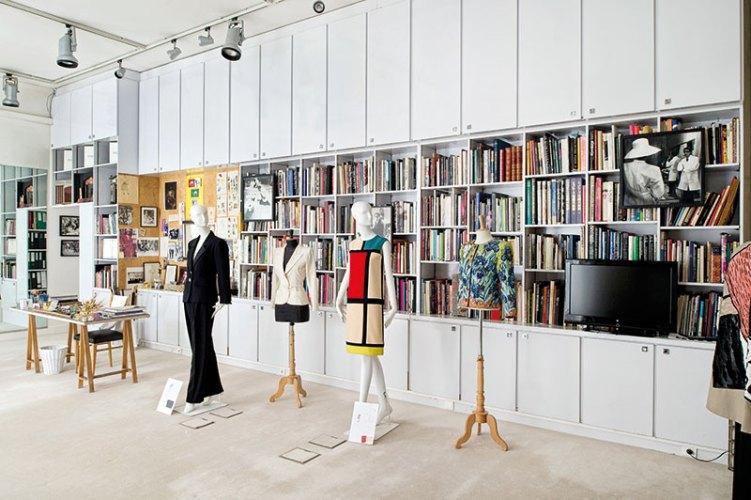 Yves Saint Laurent's Studio at 5 Avenue Marceau