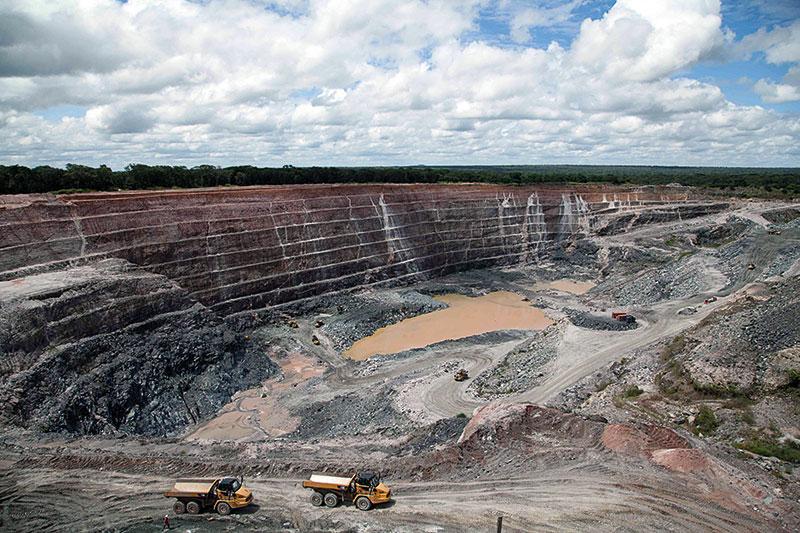 Gemfields' Kagem emerald mine, Zambia, Southern Africa