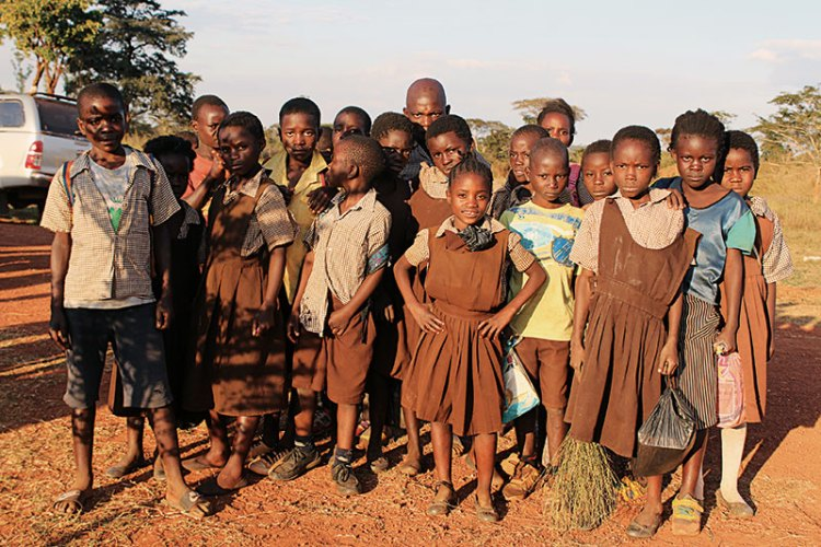Children from the educational programme