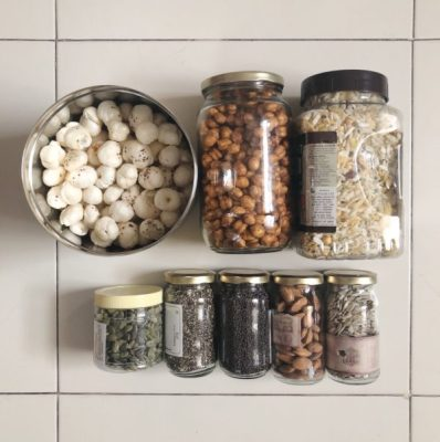 Zero waste storage containers