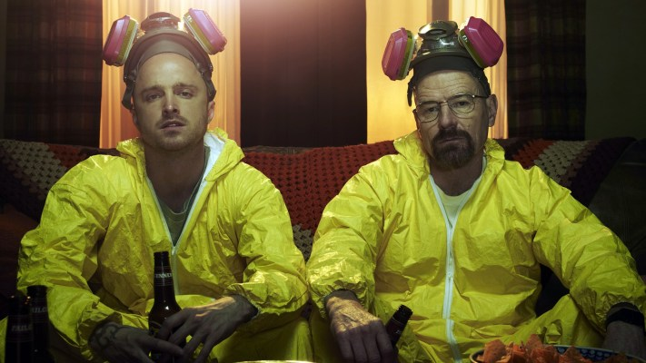 Jesse Pinkman and Walter White