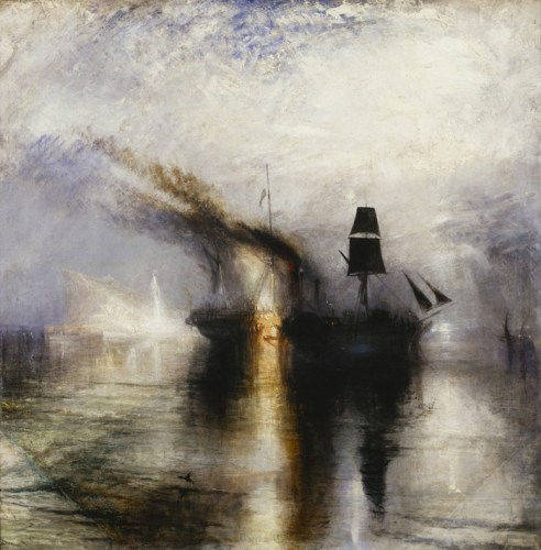 Peace - Burial at Sea, exhibited 1842 by JMW Turner