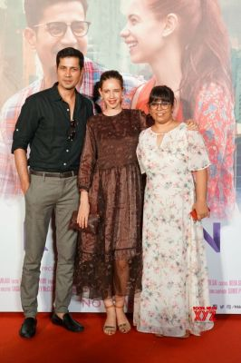L to R: Sumeet Vyas, Kalki Koechlin and Rakhee Sandilya