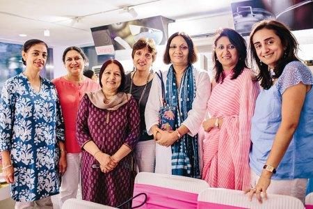Manmeet Bindra, Sujata Gupta, Gita Mohindra, Nilofer Kalra, Uma Prakash, Meethali  Narain, Nisha Razdan
