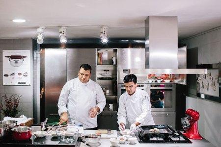 Chef Neeraj Tyagi and Chef Mukesh Singh Rawat
