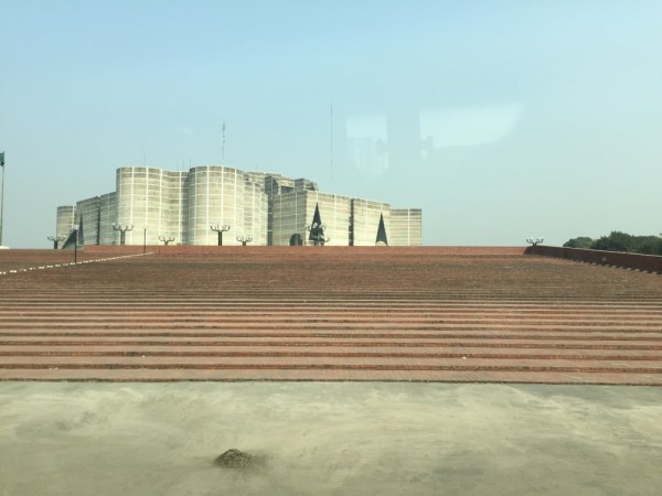 Bangladesh's parliament, built by Louis Kahn