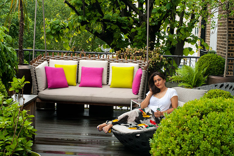 Architect and designer Shalini Misra home in London