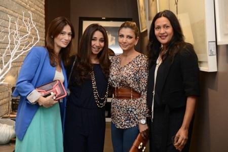 Natasha Chib, Verve's Nisha Jhangiani, Ramona Narang, Marielou Phillips
