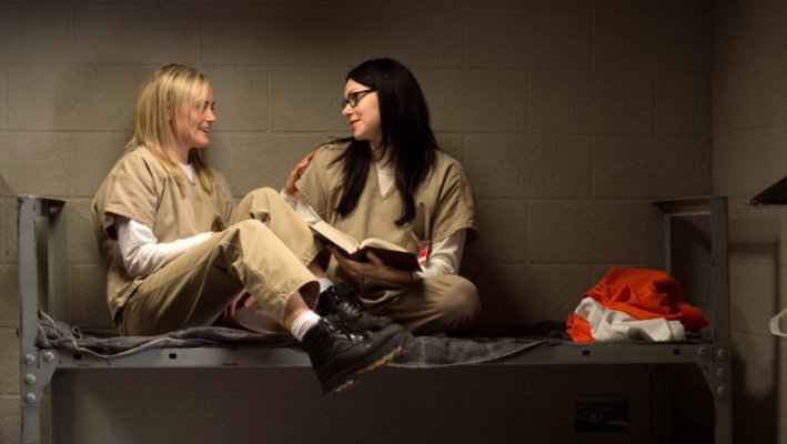 Piper Chapman and Alex Vause