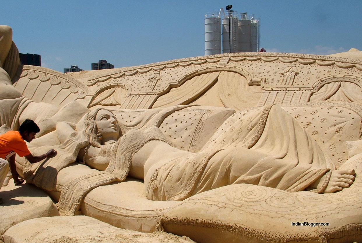 International Sand Art Festival, Konark, Cultural Coups