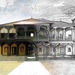 Sketch of Shaniwarwada for Bajirao Mastani, Bollywood Production, Indian Cinema