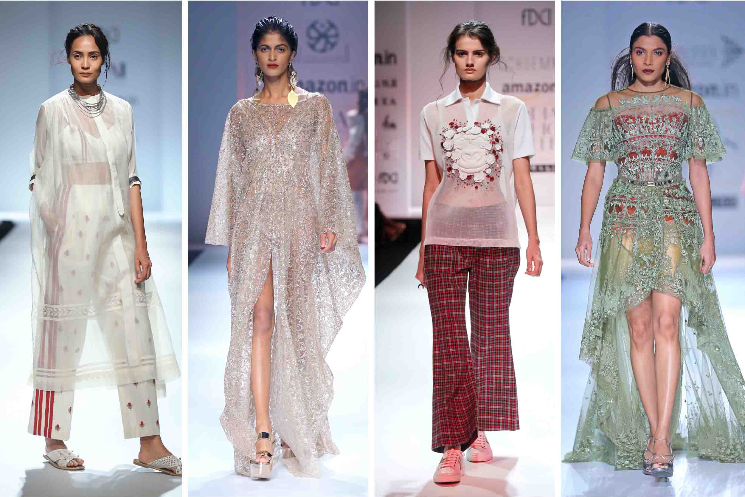 Amazon India Fashion Week Spring Summer 2017 Verve Magazine India 39 S Premier Luxury Lifestyle