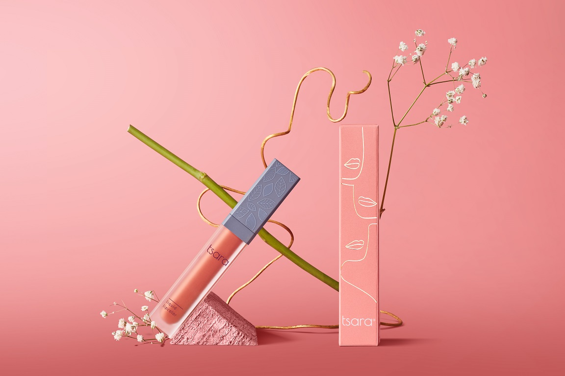 beauty brand, beauty product, conscious beauty, cruelty-free make-up, Featured, On The Mauve, Online Exclusive, Promotion, sustainable cosmetics, sustainable lipsticks, Tanisha Varalwar, toxin-free make-up, Tsara Cosmetics