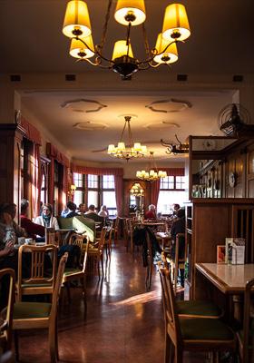 The old tearoom