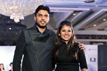 Winners Harjosh Singh Goraya and Vedangi Agarwal