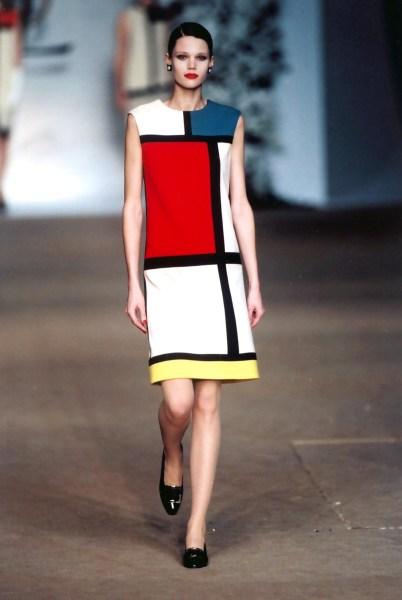 YSL x Piet Mondrian