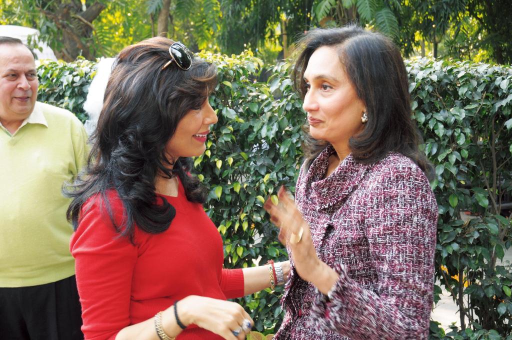 Devi Cherian and Shobana Bhartia